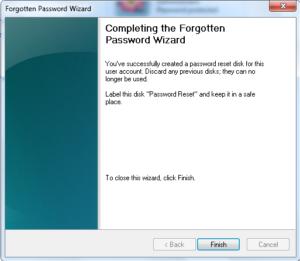 Password Reset Disk Kaise Banaye