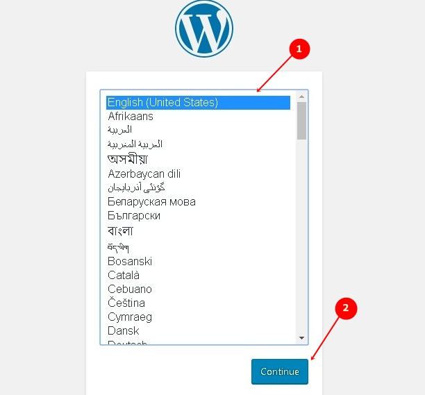 Set Language for WordPress Blog